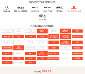 Blog Playstation Vue Services w Price 031915